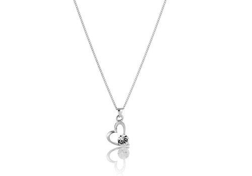 Diamond Style Swarovski Element Herz Halskette