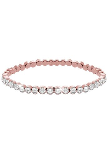 Diamond Style Rosé Swarovski Element Armband