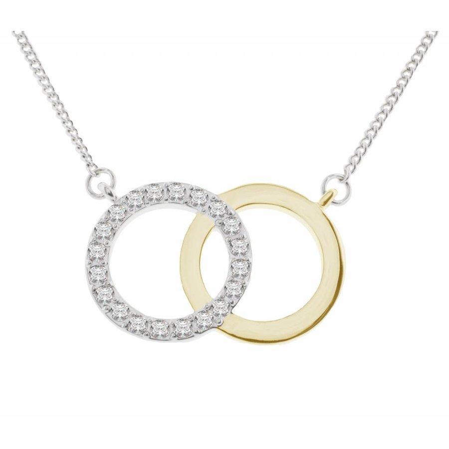 Swarovski Elemente Feingliedrige Halskette-1