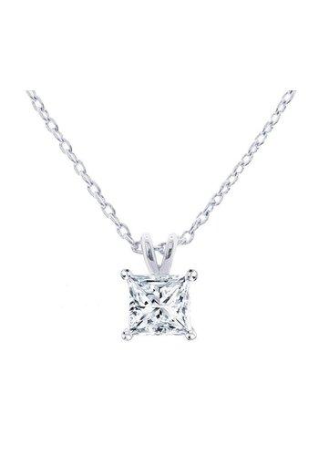 Diamond Style Swarovski Element  Halskette