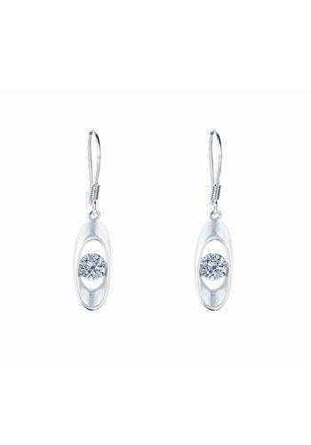 Diamond Style Haken Ohrringe