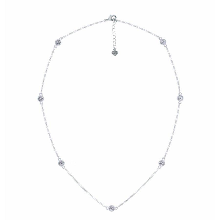 Swarovski Element Feingliedrige Halskette-1