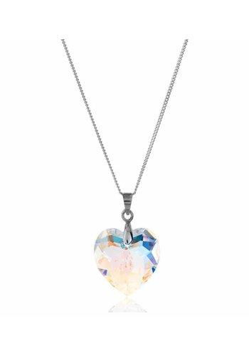 Diamond Style Aurore Boreale Kristall Halskette