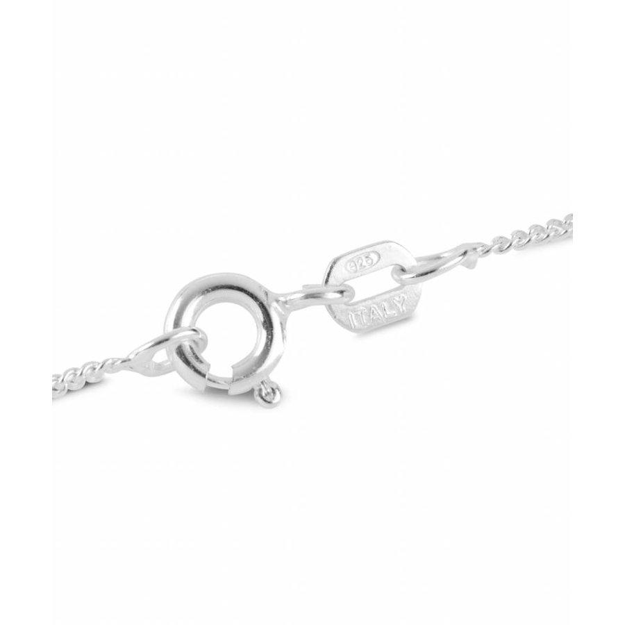 Sterling Silber Aurore Boreale Kristall Halskette-2