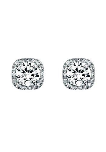 Diamond Style Steckohrring