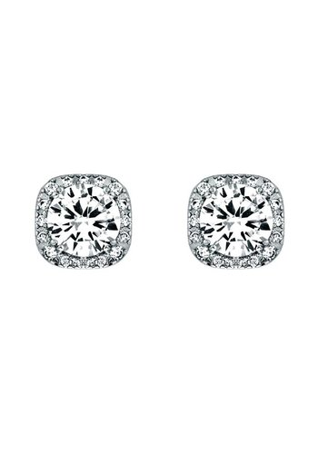 Diamond Style Swarovski Element Steckohrring