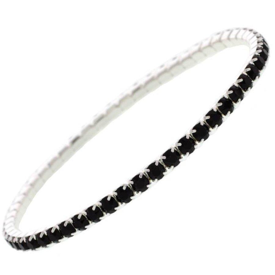 Black Kristall Armband-1