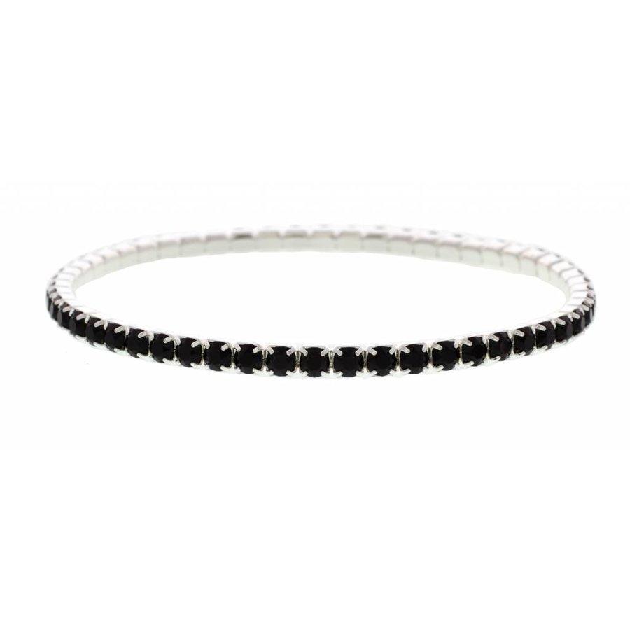 Black Kristall Armband-2