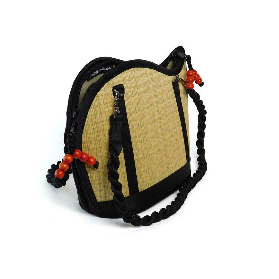 Natural Seegras Handtasche Kiri Wave-3