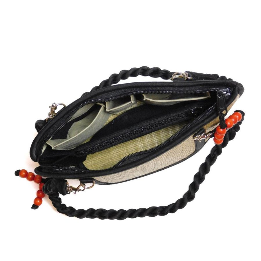 Natural Seegras Handtasche Kiri Wave-4