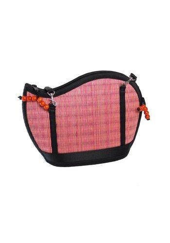 Saraye/mekhada Pinke Seegras Handtasche Kiri Wave