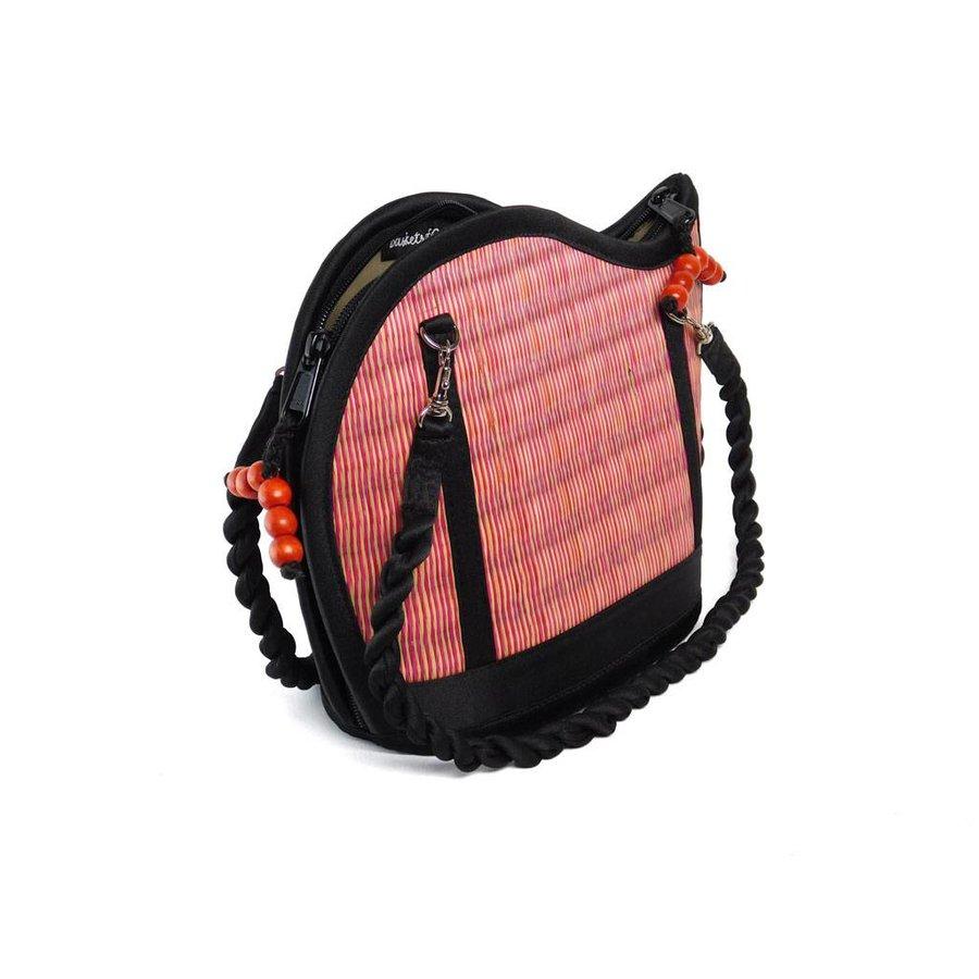 Pinke Seegras Handtasche Kiri Wave-4