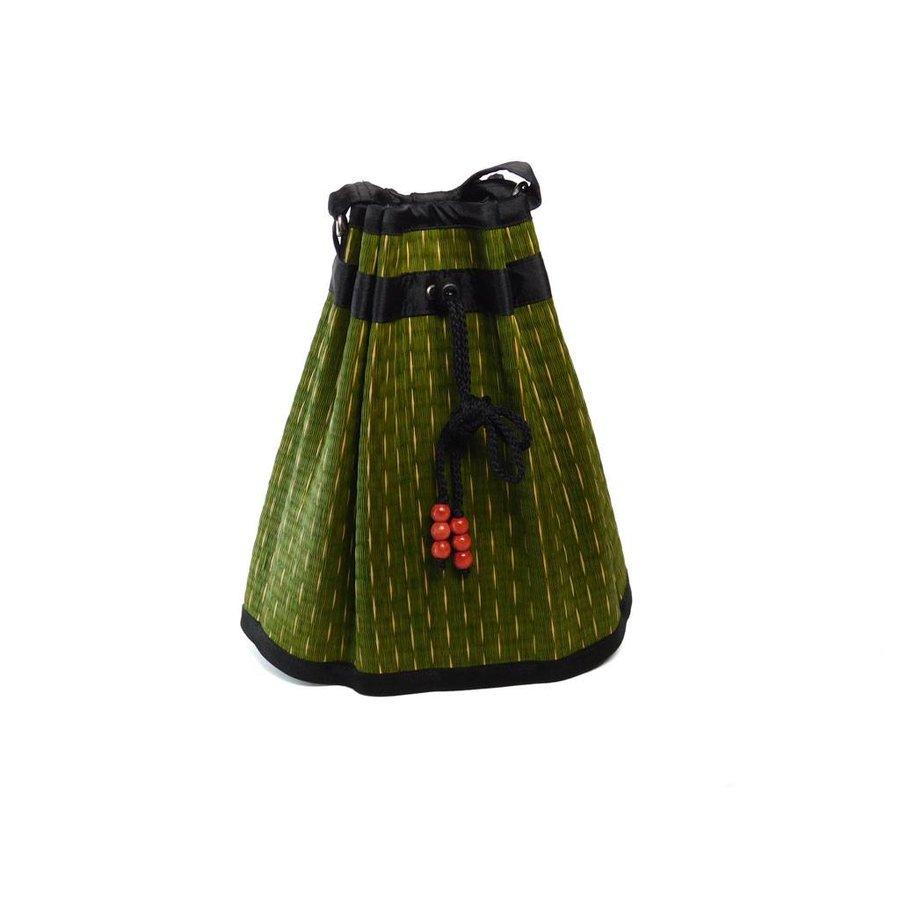 Grüne Seegras Umhängetasche Sophon-1