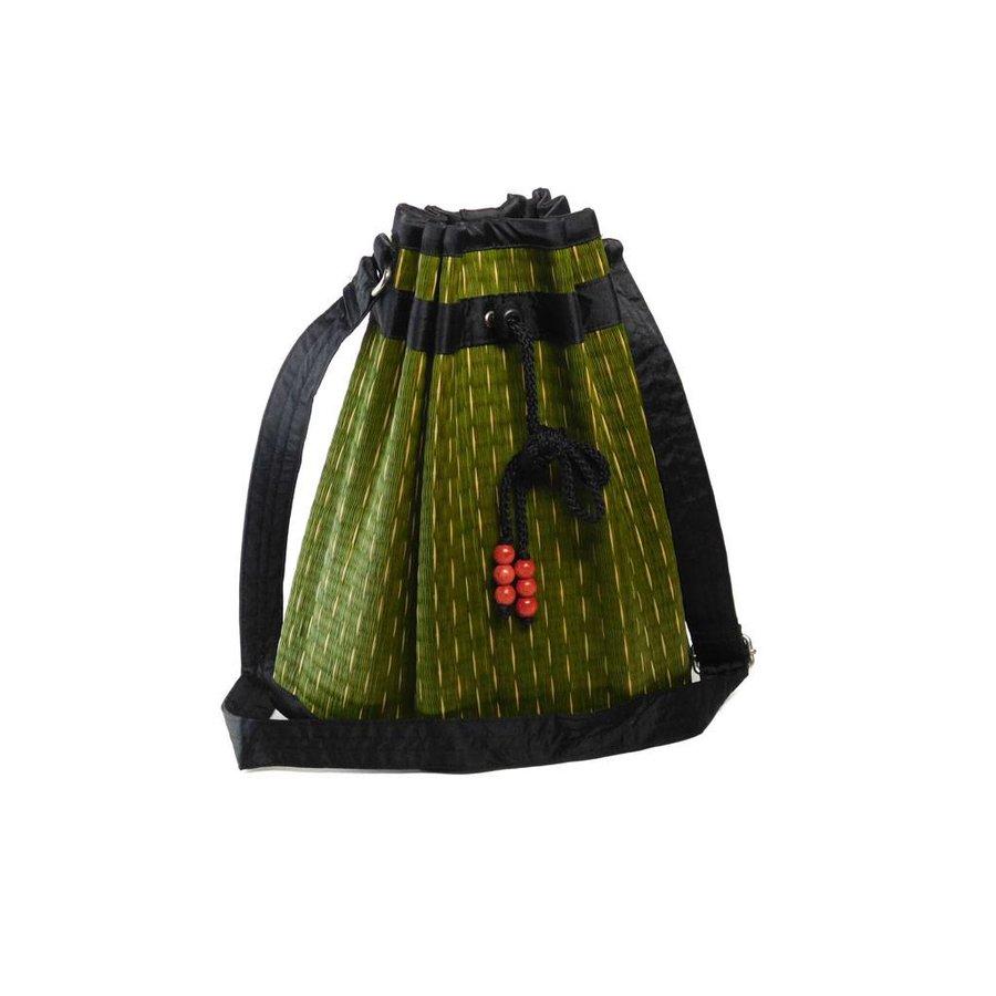 Grüne Seegras Umhängetasche Sophon-2
