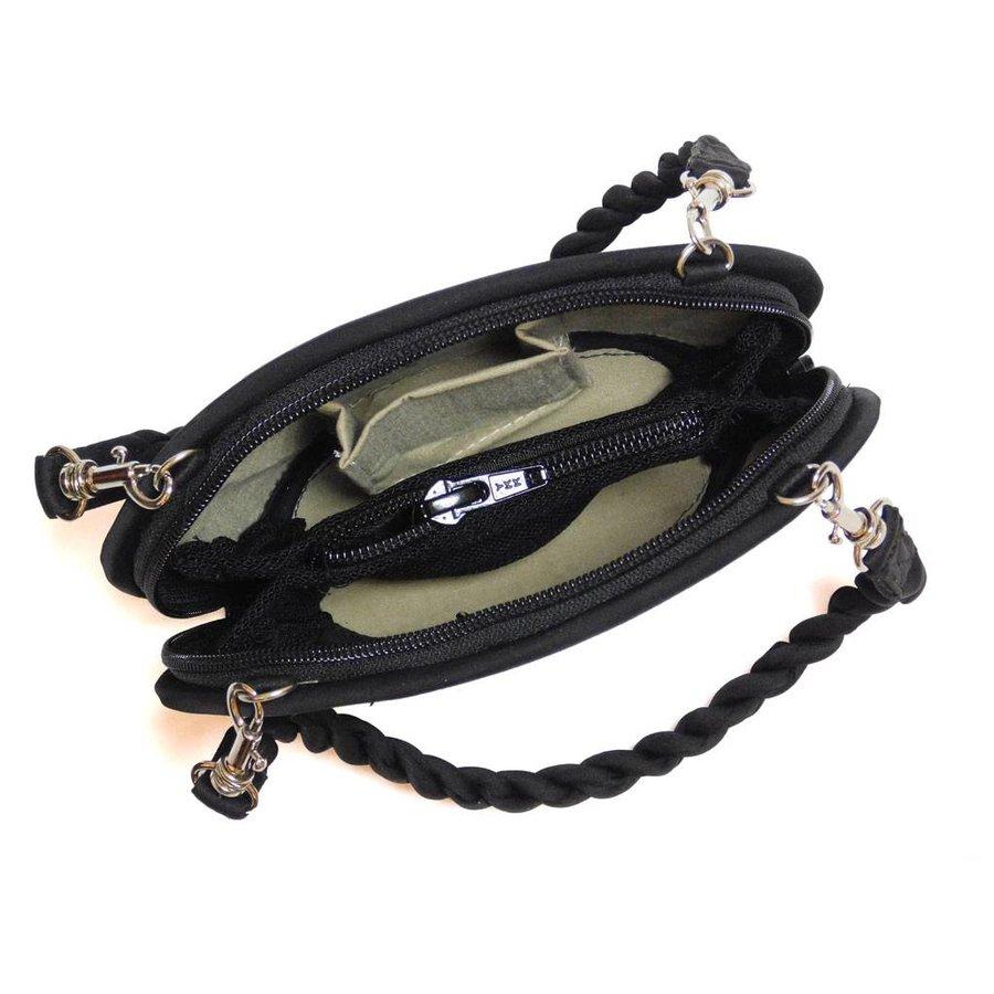 Clamshell Mini Handtasche-4