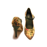 thumb-Pumps mit Blumenmuster *Amour*-2