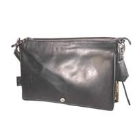 thumb-Schwarze Leder Handtasche *Demi*-3