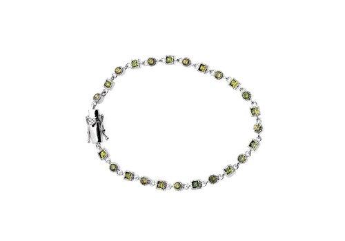 Ottaviani  Sterling Silber Armband mit Zirkonia Steine