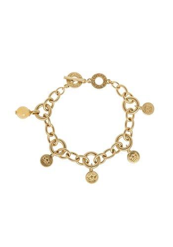 SENCE Copenhagen Damen Armband Rose Yellow Jade