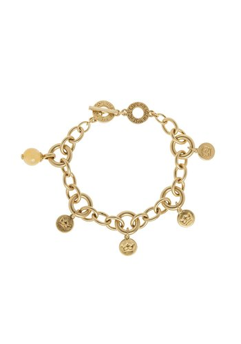 SENCE Copenhagen Vergoldet/Yellow Jade Armband Damen