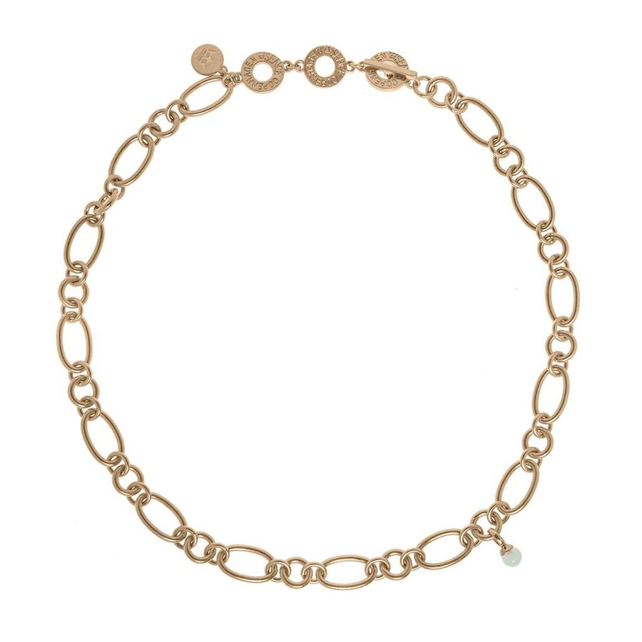 Rosé/Amazonite Halskette Damen-1