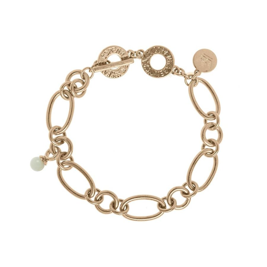 Rosé/Amazonite Armband Damen-1