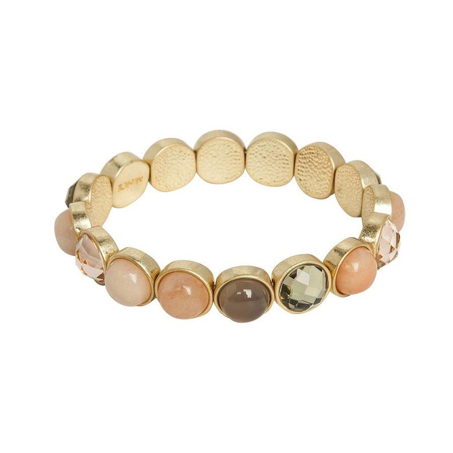 Damen Armband New Jade, Rose, Aventurine, Agate-1