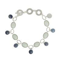 Damen Armband Blue Aventurine, Aquamarine
