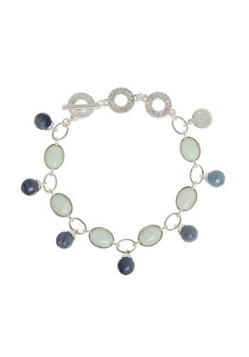 SENCE Copenhagen Damen  Armband Blue Aventurine, Aquamarine