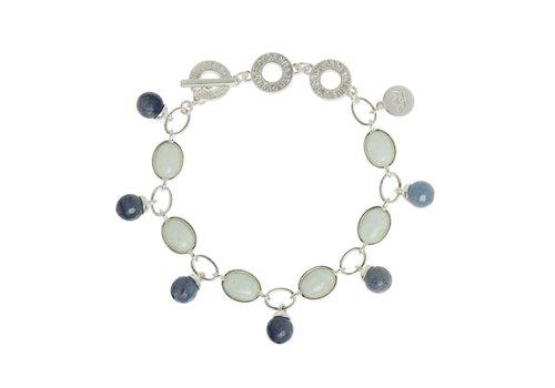 SENCE Copenhagen Blue Aventurine/Aquamarine  Armband Damen