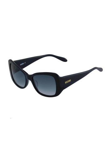 Moschino Schwarze Abgetönte Damen Sonnenbrille