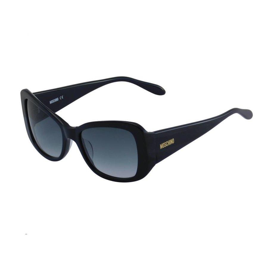 Schwarze Abgetönte Damen Sonnenbrille-1