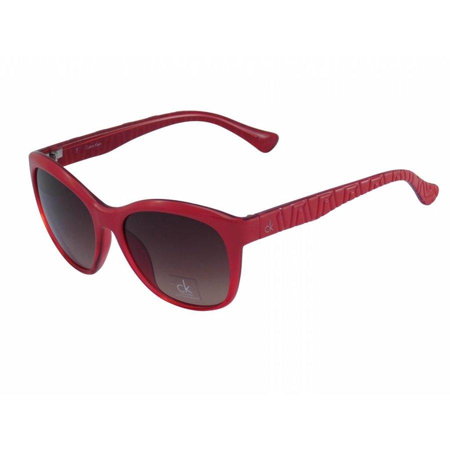 Rote Abgetönte Damen Sonnenbrille-1