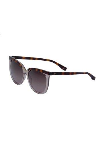Lacoste Damen Sonnenbrille Braun