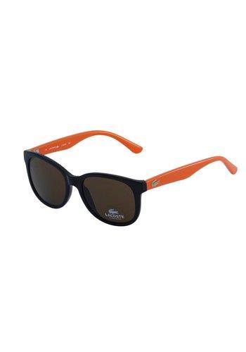 Lacoste Schwarz/Orange Abgetönte Kinder Sonnenbrille