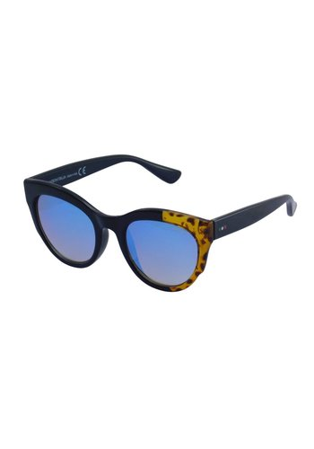 Made in Italia Damen Sonnenbrille Schwarz