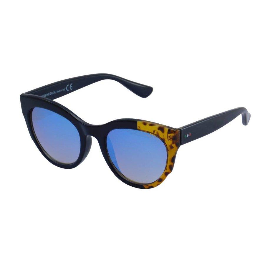 Abgetönte Dunkelblaue Damen Sonnenbrille/Rahmen 50er Jahre Style-1