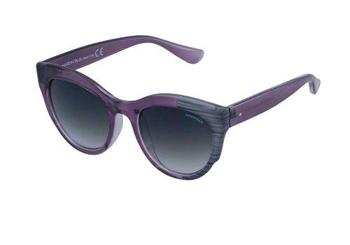 Made in Italia Abgetönte Violett Damen Sonnenbrille