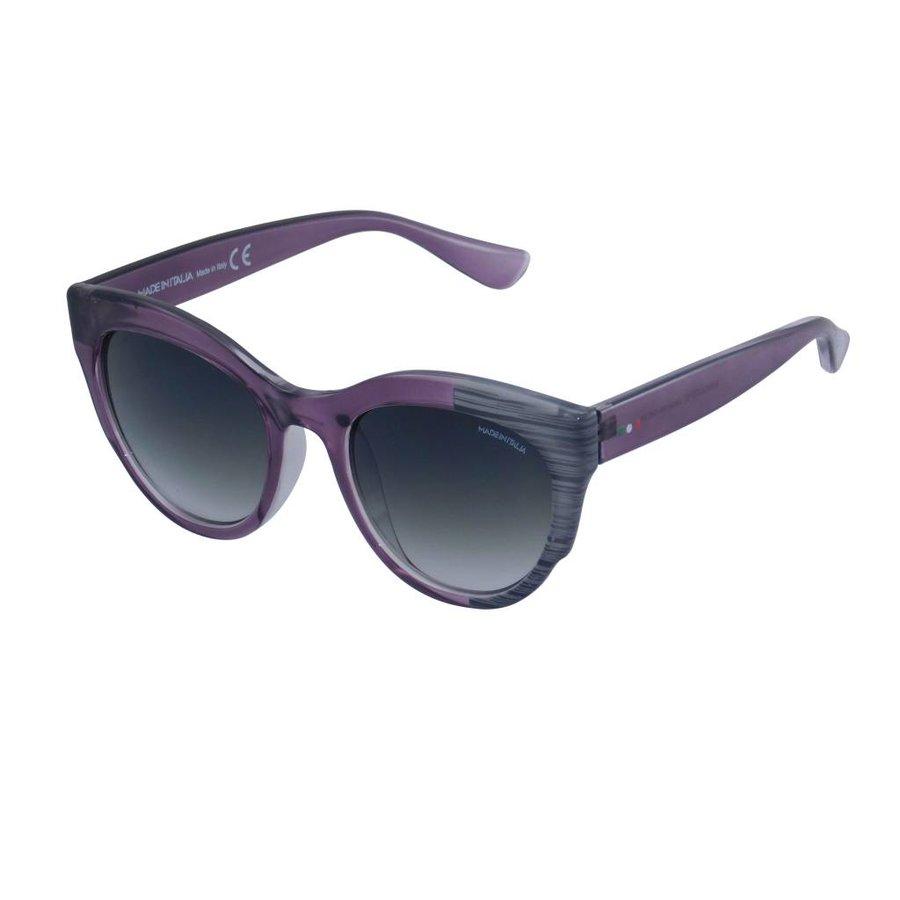 Abgetönte Violett Damen Sonnenbrille Rahmen 50er Jahre Style-1