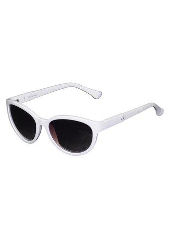 Calvin Klein Damen Sonnenbrille Weiß