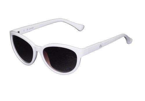 Calvin Klein Weiße Abgetönte Damen Sonnenbrille