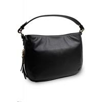 thumb-Schwarze Leder Handtasche-3