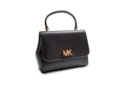 Michael Kors Kleine Schwarz/Goldfarbige Handtasche mit Magnetverschluss
