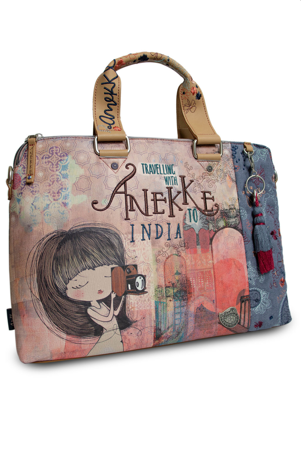 Anekke Love to share Multi Damen Handtasche *India Collection*