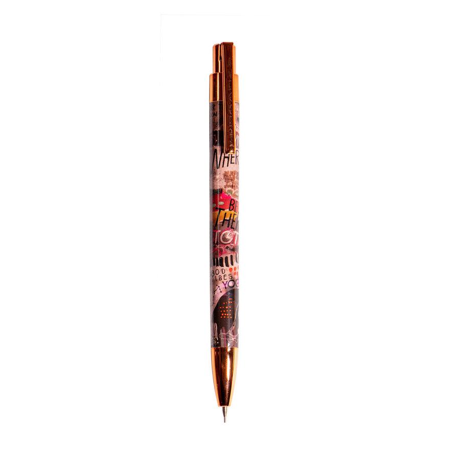 Schwarz/Multifarben/Rosé Kugelschreiber/Bleistift Set-2