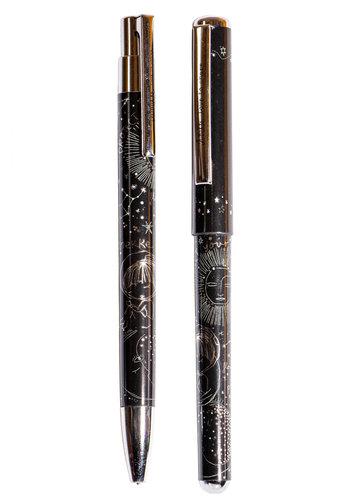 Anekke  Love to share Schwarze Kugelschreiber/Bleistift Set *Universe*