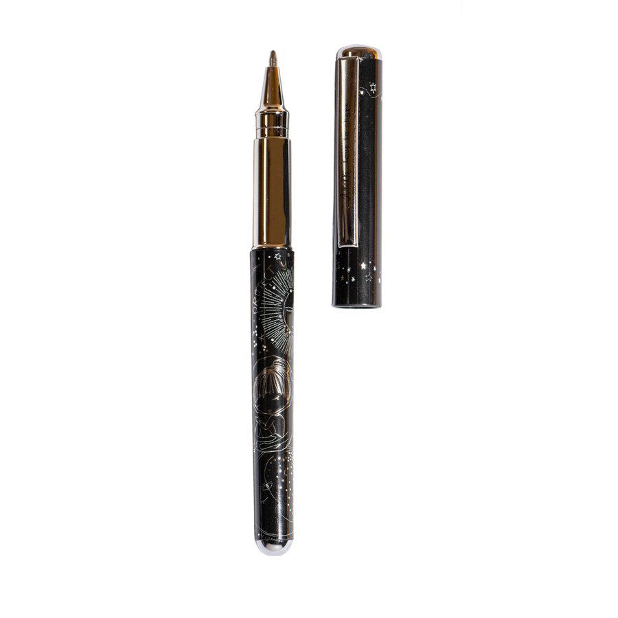 Schwarz/Silberfarbig Kugelschreiber/Bleistift Set *Universe Collection*-3