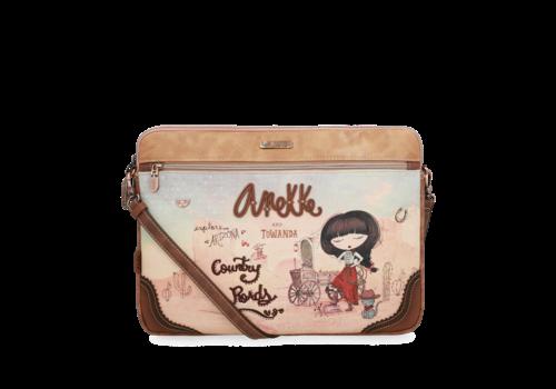 Anekke  Love to share Braune IPad/Tablet Tasche  *Arizona*