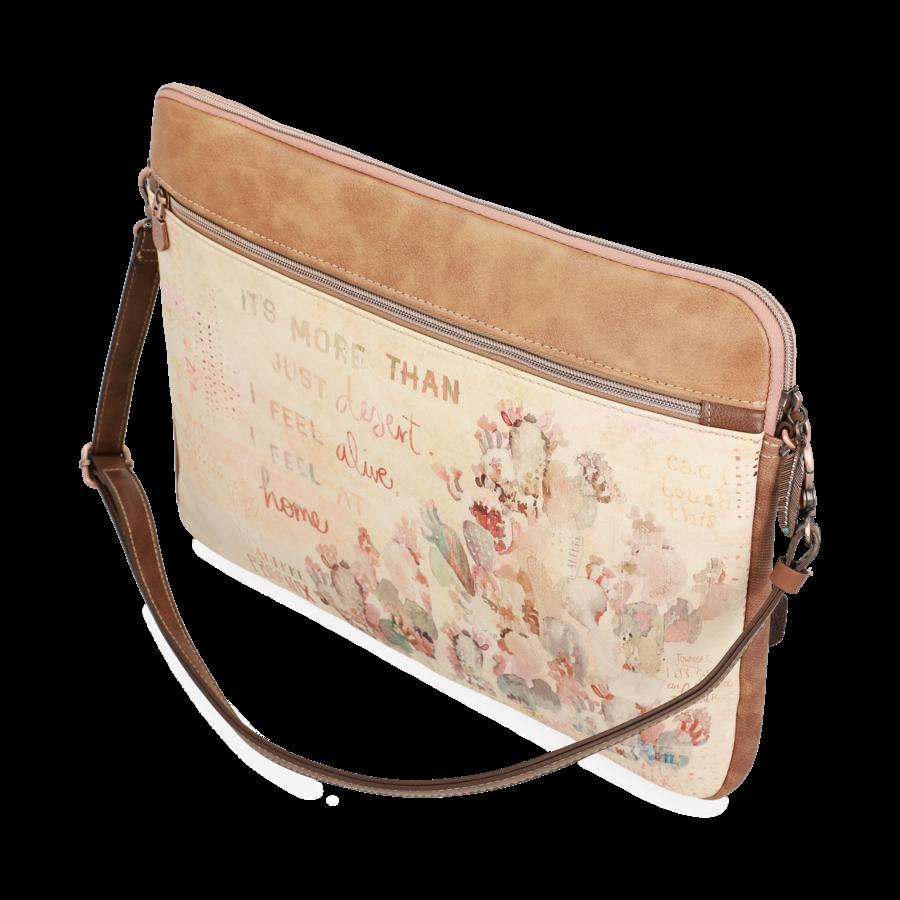 Braune IPad/Tablet Tasche  *Arizona Collection*-6