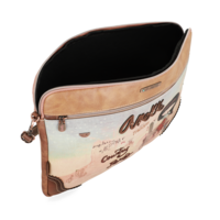 thumb-Braune IPad/Tablet Tasche  *Arizona Collection*-4
